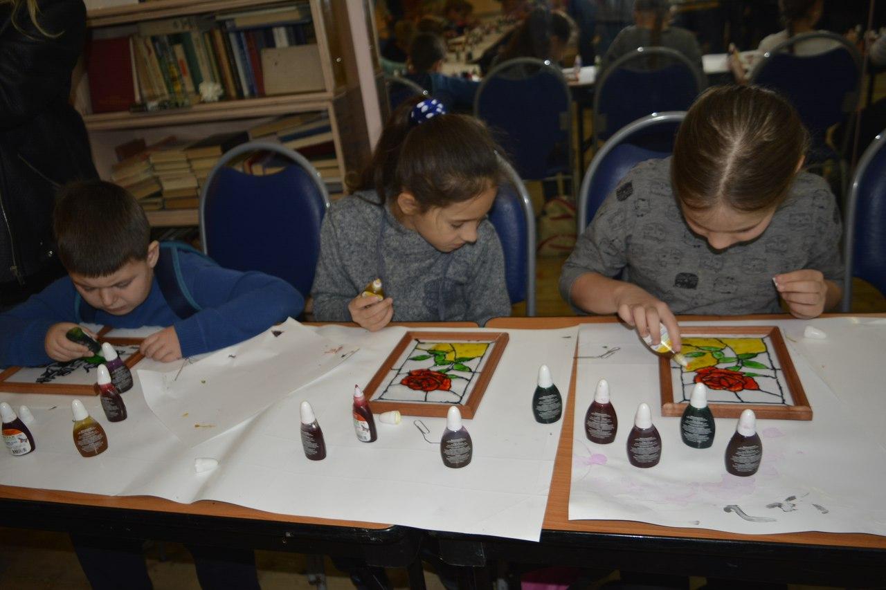 мастер-класс витраж для воспитанников Московии