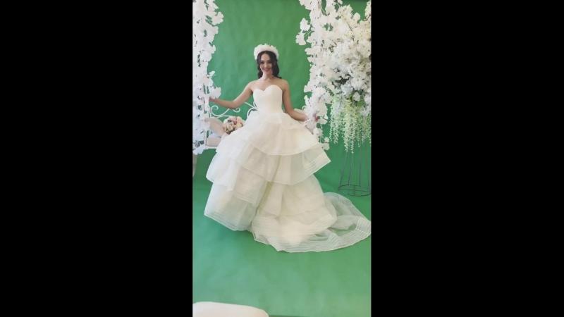 Прекрасный образ невесты от мастеров Студии Красоты Sea Shell!