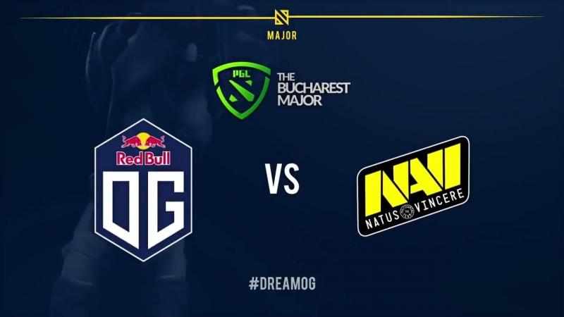 Bucharest, NAVI vs OG