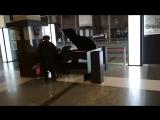 Рояль на Ярославском вокзале