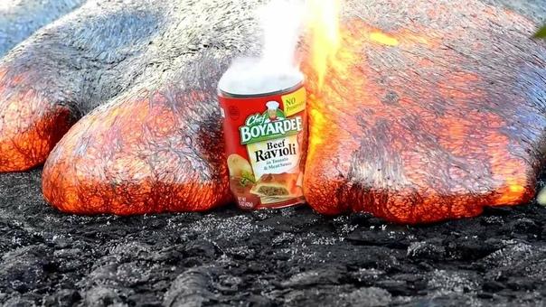 Что если бы мы сбрасывали весь мусор в вулканы