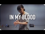 1Million dance studio In My Blood - Shawn Mendes May J Lee Choreography