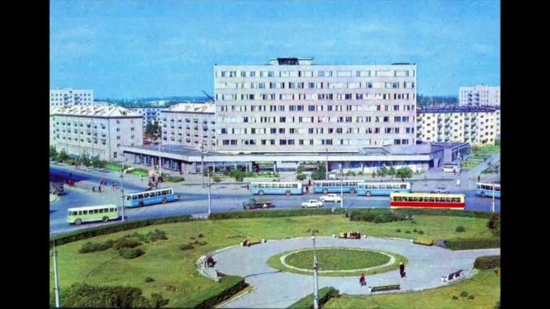 Новосибирск в 1970-е годы _ Novosibirsk 1970s