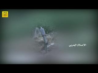 فيديو_من_الميدان - مشاهد لإستهداف الجيش_اليمني و اللجان_الشعبية بصواريخ زلزال1 وكاتيوشا مواقع تحالف_العدوان السعودي في جيزان. -