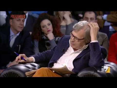 Sgarbi show furioso contro l'euro, gli italiani non volevano l'euro, non l'hanno scelto