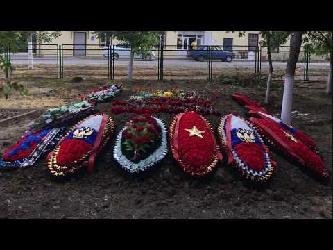 Перезахоронение солдат ВОВ 2