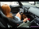 Fast Driving Girls - Hot girl Marty on Lotus Elise in high heels (V053)