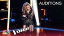 SandyRedd Gets Four Turns with Bishop Briggs' River - The Voice 2018 Blind Auditions
