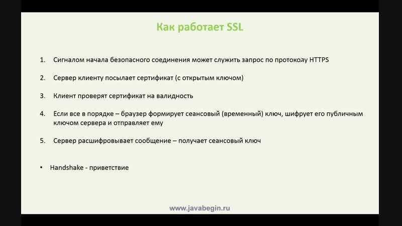 123 - Spring. SSL