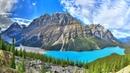 Картинка горы Озеро Пейто Национальный парк Банф Канада Канадские Скалистые горы горы лето