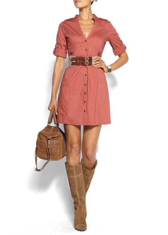 С чем носить коричневые сапоги: фото на каблуке, без каблука, замшевые, кожаные, осенние, зимние