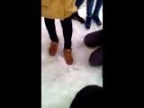 г. Вольск, Саратовская область, 6-го апреля в сети появился ролик, где студентка Яна измывается над школьницей Алевтиной, застав