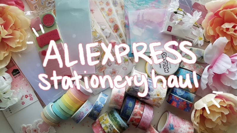❀ Cheap Stationery Haul | Washi Tape, Stickers, More! ❀