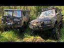 Как найти болото в 30 TLC80, Wrangler, Volvo c303 - все на одинаковых мостах