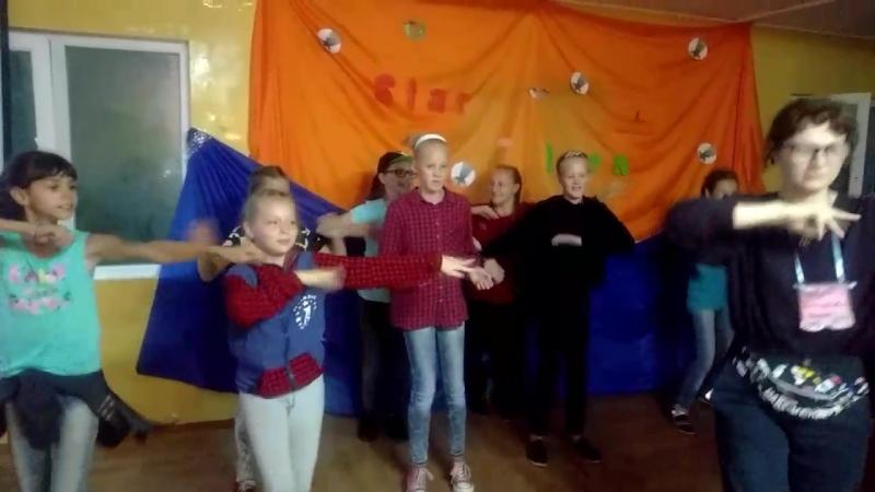 6 смена 2018г Лезгинка от 4 отряда