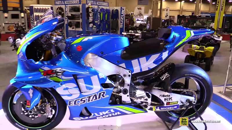 2018 Suzuki GSX-RR Moto GP 42 Alex Rins Racing Bike - Walkaround - 2018 AIMExpo Las Vegas