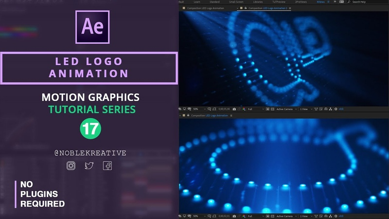 LED Logo Animation in After Effects