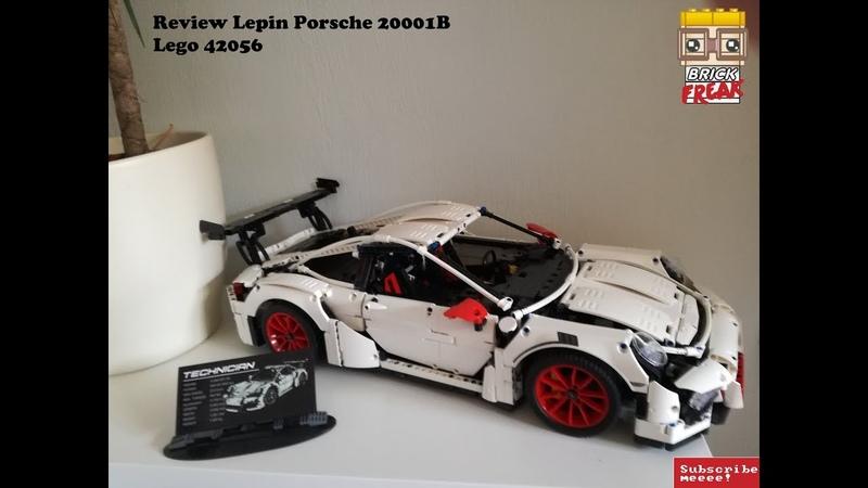 Lepin Porsche 20001B in weiß Lego 42056 Review Vorstellung