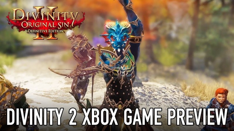 Divinity: Original Sin 2 - Available now on Xbox Game Preview