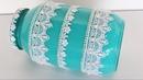 Artesanato em Pote de Vidro Rendas e Pérolas Do Lixo ao Luxo