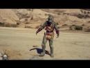 рептилоид атакует землянина