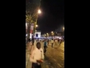 Ce que les médias nous cachent - Violences et jets de projectiles hier dans Paris et les Champs Élysées