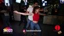 Walid Belkabir and Svetlana Levchenko Salsa Dancing in Cuba Libre Bar, The Third Front, Mon 06.08.18
