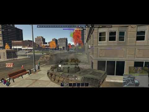 WarThunder - 1 Зенитка против -3х т64
