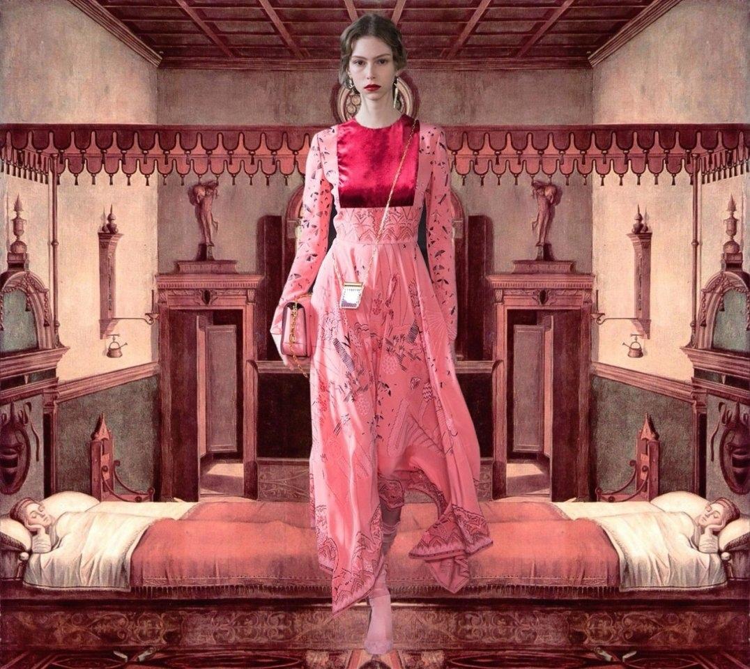 Рекламная кампания Valentino.