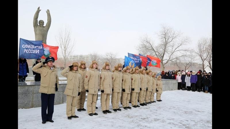 22 02 2019 В Байконуре создан первый отряд военно-патриотического движения «ЮНАРМИЯ»
