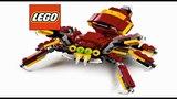 Обзор Лего Создатель 3 в 1 (31073) Дракон, Паук, Тролль LEGO Creator