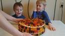 Делаем вкусный торт из mm, скитлс и мармеладных мишек
