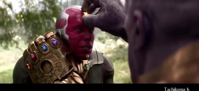Scarlet Witch reacts to Vision`s death | Алая ведьма реагирует на смерть Вижна coub
