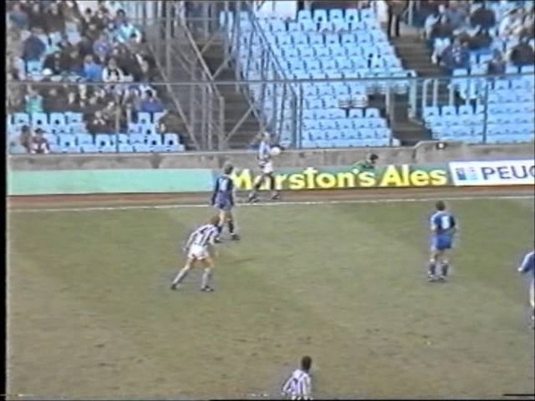 COVENTRY CITY 3 CHELSEA 0 1986 87