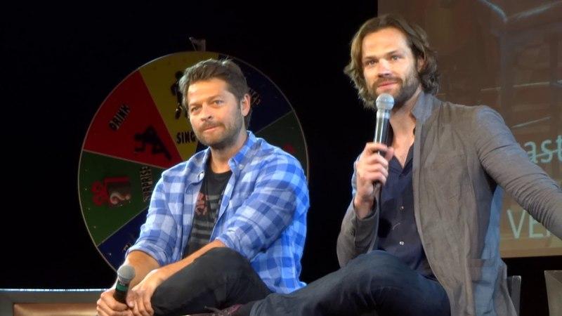 Jared and Misha panel -Jibcon9 (part3)