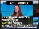 ALERTE ACTE 1 POLICIERS JE VIENS VOUS L'ANNONCER SOLANELLEMENT 15 12 2018