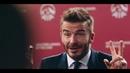 David Beckham menjawab soalan tentang gaya hidup sihat