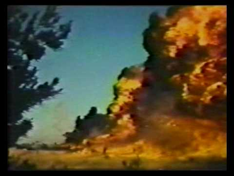 TAC Aircraft Napalm Drop