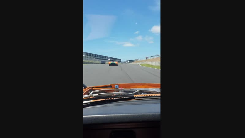 Robbie in his RX7 20bpp 808 wagon chasing down the legendary mazda 767b