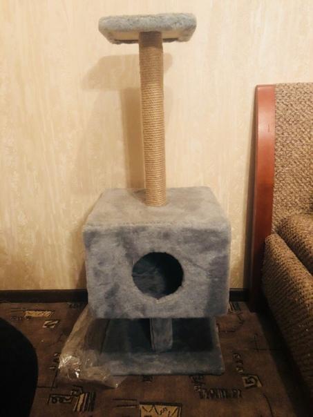 Продам домик с когтеточкой для котика