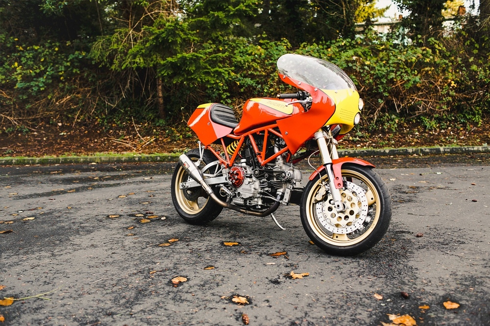 Speedy Siegl Racing: кастом Ducati 900SS Racer