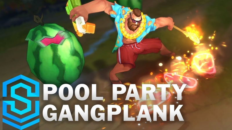 Pool Party Gangplank Skin Spotlight Pre Release League of Legends  » онлайн видео ролик на XXL Порно онлайн