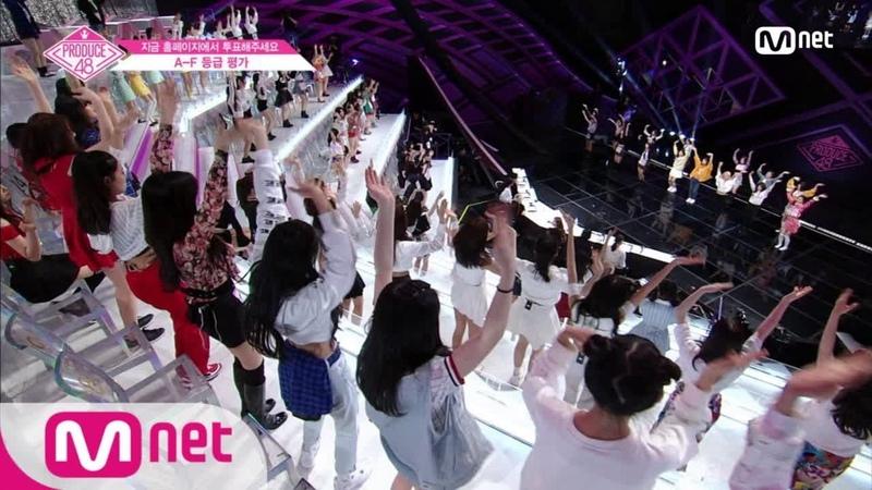 [ENG sub] PRODUCE48 [단독/2회] 오늘 밤 주인공은 나야나 나야나 헤비로테이션 뜻밖의 군무 1806