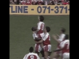 An absolutely incredible strike from Anders Limpar against Liverpool back in 1992