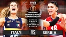 Italy vs Serbia - (Highlights) 16 Oct. 2018 | Women's World Championship 2018