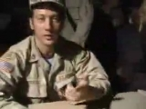 Rob Schneider supports us troops!
