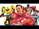 Фёдор и игрушки для мальчиков LIVE 🔴 Машинки, Трансформеры и супергерои