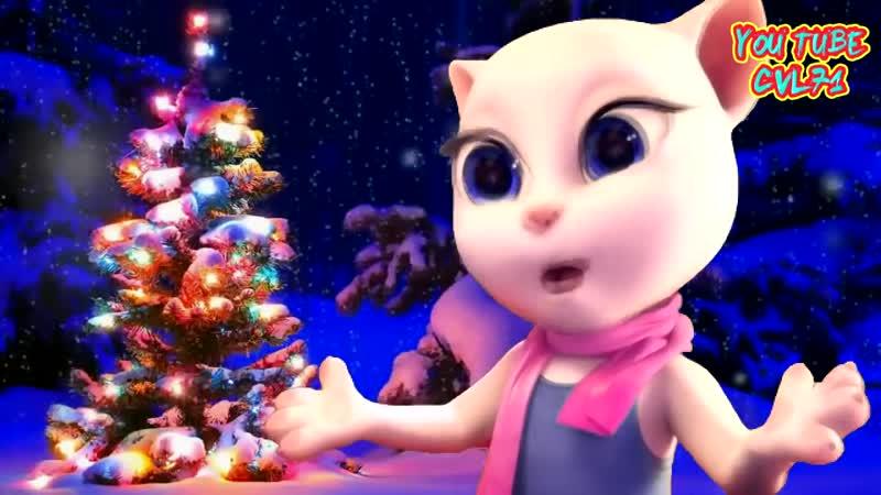 Самое ❄️ Яркое ❄️ Красочное ❄️ Поздравление ⛄️ С Новым Годом ! ⛄️ от 💝 Анжелы