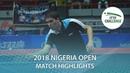 Robinot Alexandre/Seyfried Joe vs Olah Benedek/Lakatos Tamas   2018 Nigeria Open Highlights (Final)