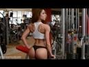 Petra Szabo Fitness Model Gym Photoshooting Video Part I.